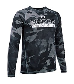 Under Armour® Boys' 8-20 Long Sleeve Comp Infrared Tee