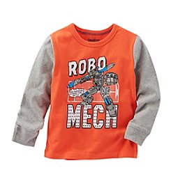 OshKosh B'Gosh® Boys' 2T-7 Long Sleeve Robo Mech Tee