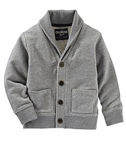 OshKosh B'Gosh® Boys' 2T-7 Long Sleeve Shawl Cardigan