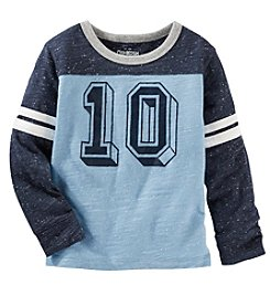 OshKosh B'Gosh® Boys' 2T-7 Long Sleeve 10 Tee