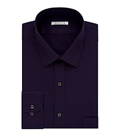 Van Heusen® Men's Regular Fit Purple Long Sleeve Dress Shirt