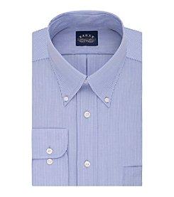 Eagle® Men's Fine Line Stripe Long Sleeve Dress Shirt
