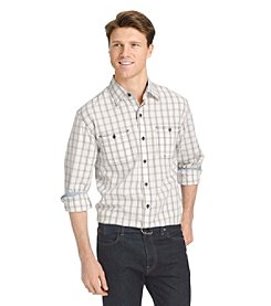 Izod® Men's Saltwater Blues Long Sleeve Button Down Shirt