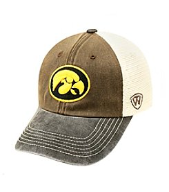 NCAA® Iowa Men's Trailway Mesh Adjustable Hat
