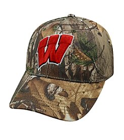 NCAA® University of Wisconsin Xtra Real Tree Camo Hat