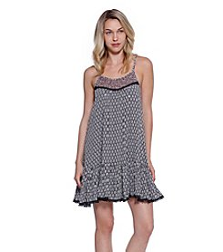 Skylar & Jade™ Printed Gauze Swing Dress