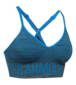 Under Armour® Seamless Feeder Stripe Sports Bra