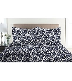 Elite Home Products Avalon 300-Thread Count 3-pc. Duvet Cover Set