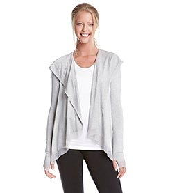 Karen Kane® Open Hooded Cardigan