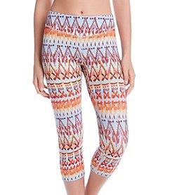 Karen Kane® Ganado Print Active Pants