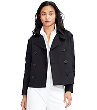 Lauren Jeans Co.® Double-Breasted Jacket