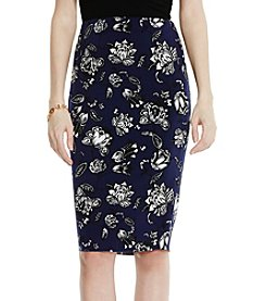Vince Camuto® Floral Tube Skirt