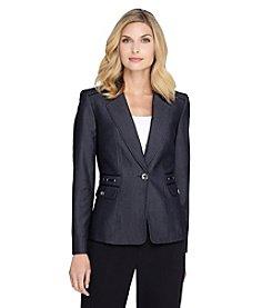Tahari ASL® Denim Suit Jacket