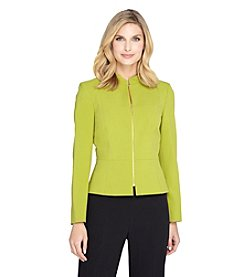 Tahari ASL® Zip Up Blazer Jacket
