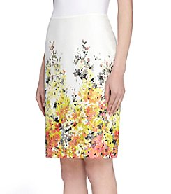 Tahari ASL® Summer Floral Straight Skirt