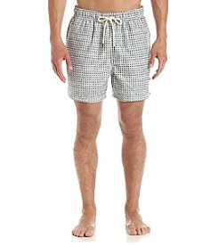 Nautica® Men's Geo Block Swim Trunks
