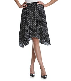Ivanka Trump® Georgette Draw String Skirt