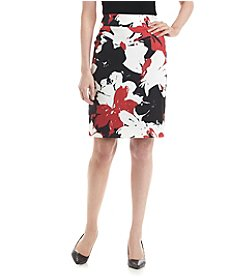Nine West® Volcano Flower Skirt