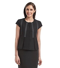 Nine West® Pleated Blouse