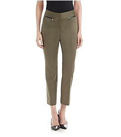 Nine West® Zip Pocket Pants