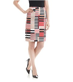 Nine West® Volcano Block Skirt