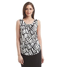 Nine West® Pleated Neck Cami