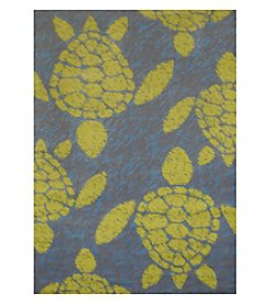 United Weavers Panama Jack Sea Turtle Scatter Rug