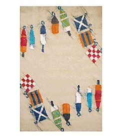 United Weavers Panama Jack Set Sail Scatter Rug