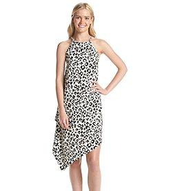 XOXO® Animal Print Halter Dress