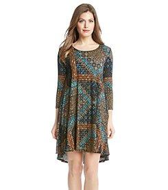 Karen Kane® Mosaic Maggie Trapeze Dress