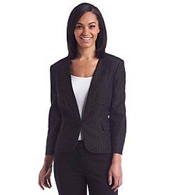 Kasper® Printed Blazer Jacket