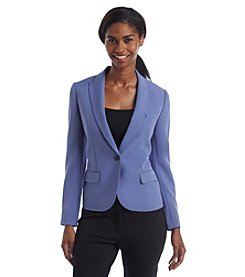 Anne Klein® Howard Hawks Peak Lapel Jacket