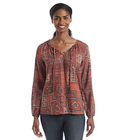 Ruff Hewn Tile Peasant Top