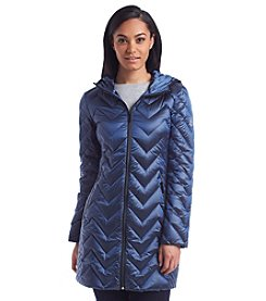 MICHAEL Michael Kors® Chevron Quilted Packable Down Jacket