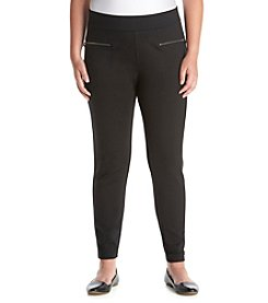 Chelsea & Theodore® Plus Size Pull-On Leggings With Zip Pockets