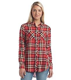 Relativity® Plaid Utility Shirt