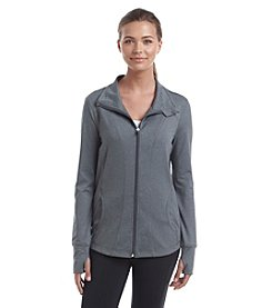 Exertek® Petites' Solid Color Full Zip Jacket