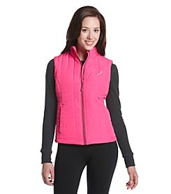 Exertek® Petites' Full Zip Wave Quilted Vest