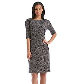 Connected® Slouch Neck Sheath Dress