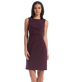 Calvin Klein Sleeveless Sheath Scuba Dress