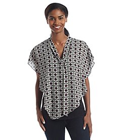 AGB® Geo Print Popover Top
