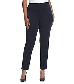 Relativity® Plus Size Pull On Jeggings