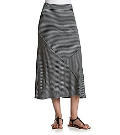 G.H. Bass & Co. Patch Maxi Skirt