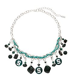 accessory PLAYS® NCAA® Michigan State Spartans Shaky Collar Necklace