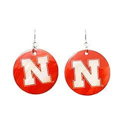 accessory PLAYS™ University Of Nebraska Shell Drop Earrings