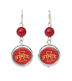 accessory PLAYS™ Iowa State University Disc Drop Earrings