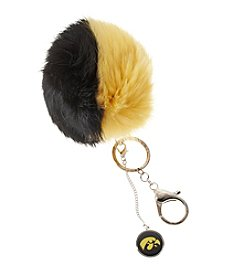 accessory PLAYS™ NCAA® University Of Iowa Two-Tone Puff Charm Key Ring