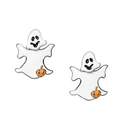 Studio Works® Hemitite Tone Epoxy Ghost Earrings