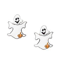 Studio Works® Hemitite Tone Epoxy Ghost Earrings