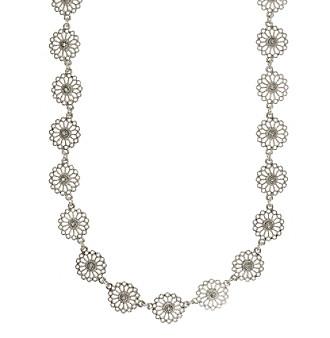 Nine West Vintage America Collection® Silvertone Collar Necklace plus size,  plus size fashion plus size appare